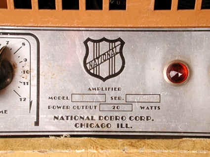 Early(prewar) amplifier