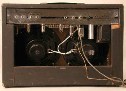 national postwar amplifier