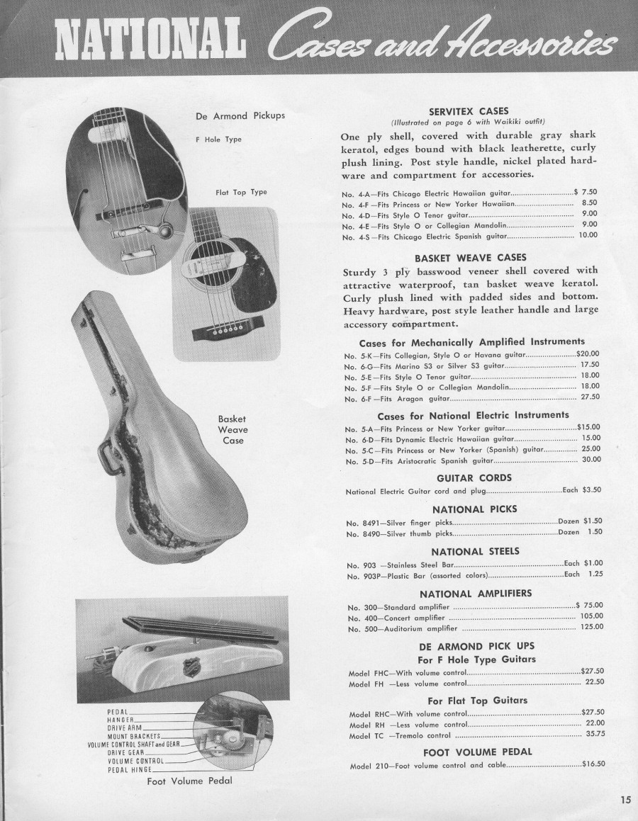 1942 catalogue accessories page