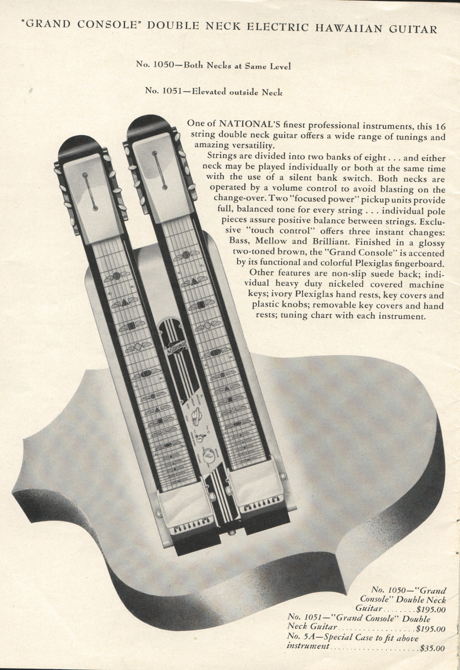 1951 catalogue Grand Console page