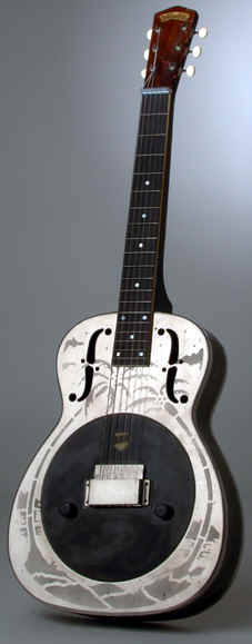 National pre Silvo electric guitar