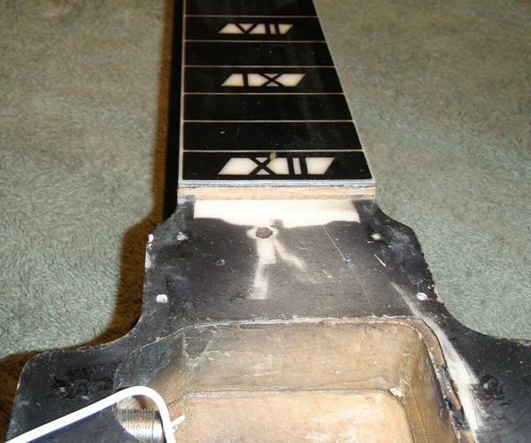 National New Yorker lap steel, V2 Body Cavity