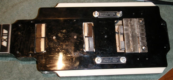 National New Yorker lap steel, V2 fingerboard off