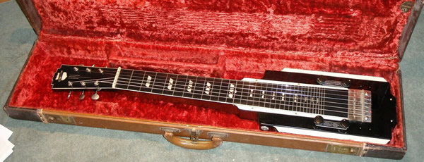 National New Yorker lap steel, V2 in case