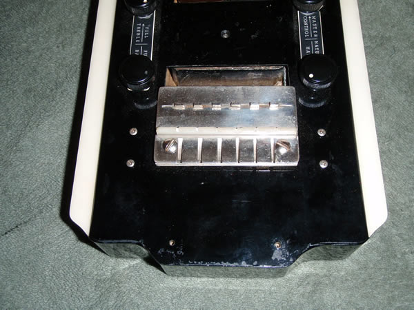 National New Yorker lap steel, V2 tailpiece  and pickup
