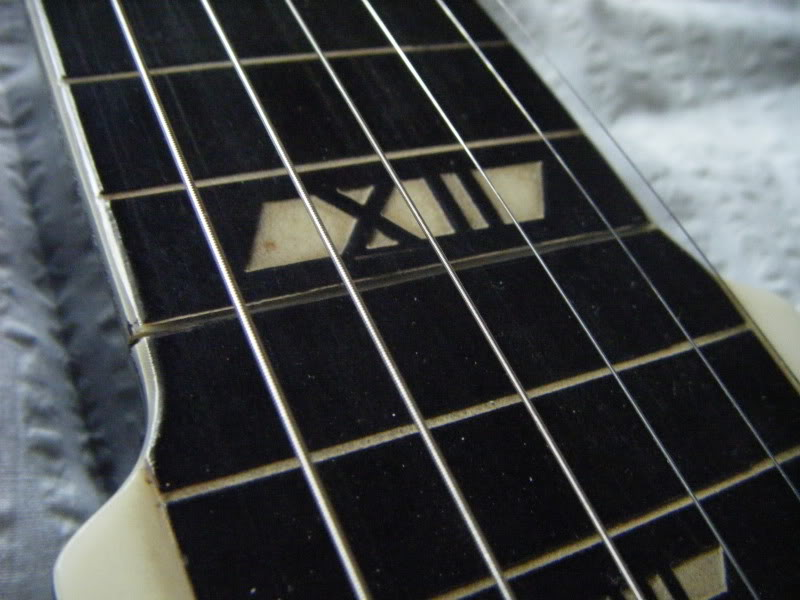 National New Yorker lap steel, 12th fret join