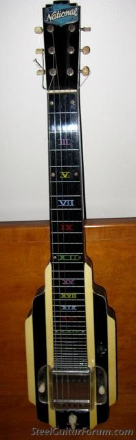 National New Yorker lap steel, variant 12