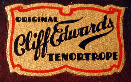 Cliff Edwards Tenortrope