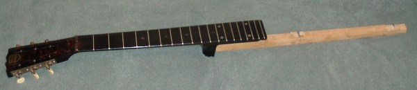 triolian with bakelite neck pic