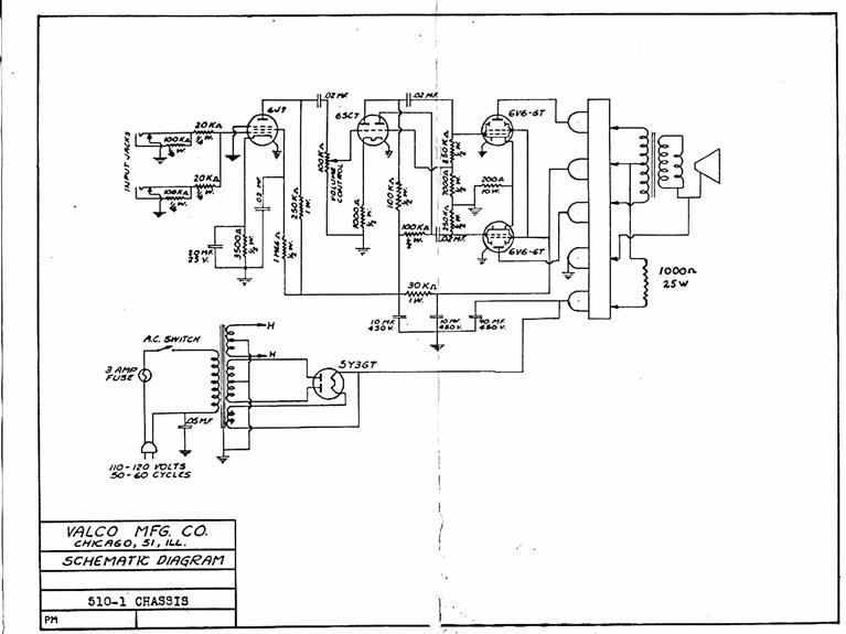 National Amp Circuit Diagrams Or Schematics